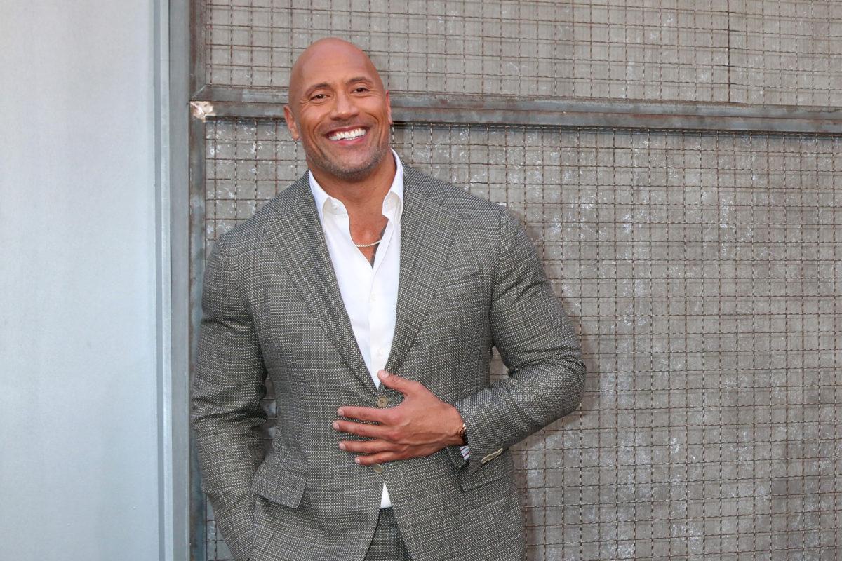 dwayne 'the rock' johnson asked about hygiene habits following celebrity stances on bathing