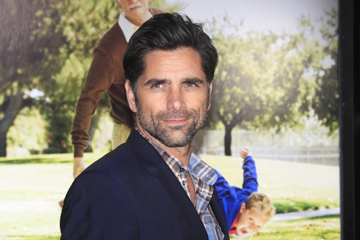 john stamos says wife caitlin and son billy are a dream come true '100 times over'