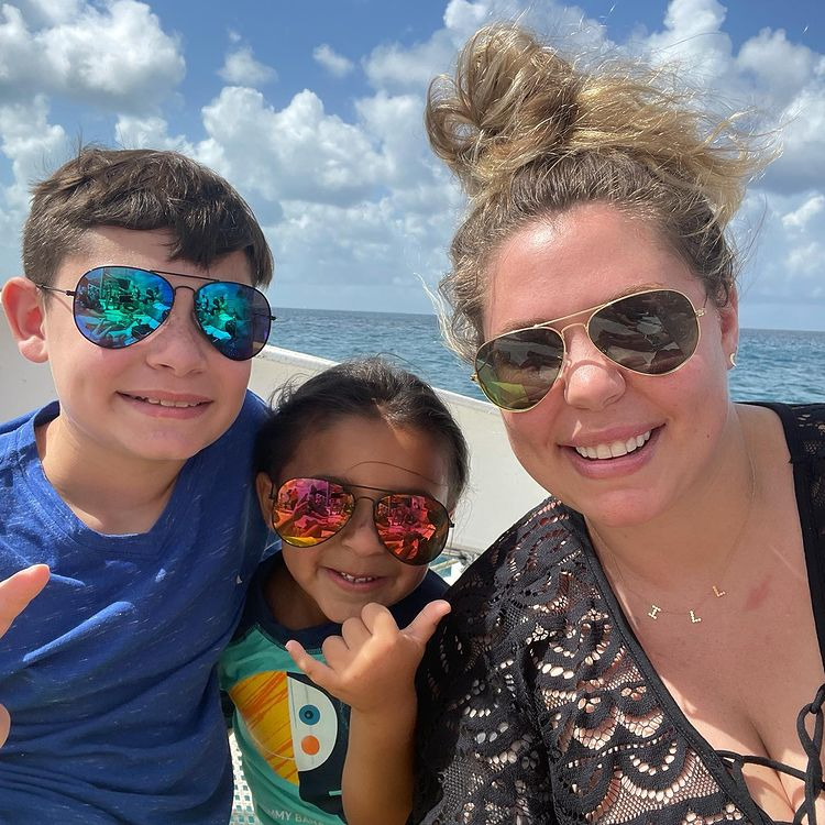 kailyn lowry and kids contract covid-19 trip visiting dominican republic