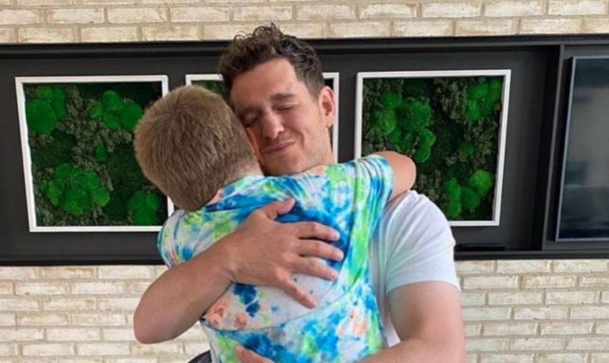 michael bublé calls his oldest son his hero on 8th birthday