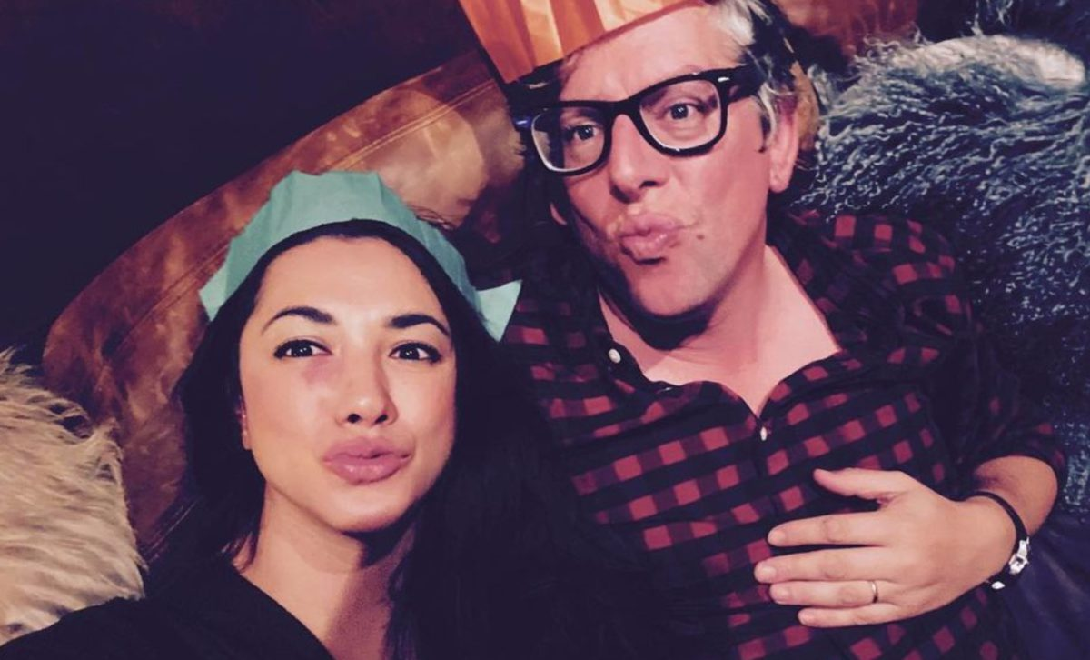 michelle branch reveals pregnancy with actual buns in the oven