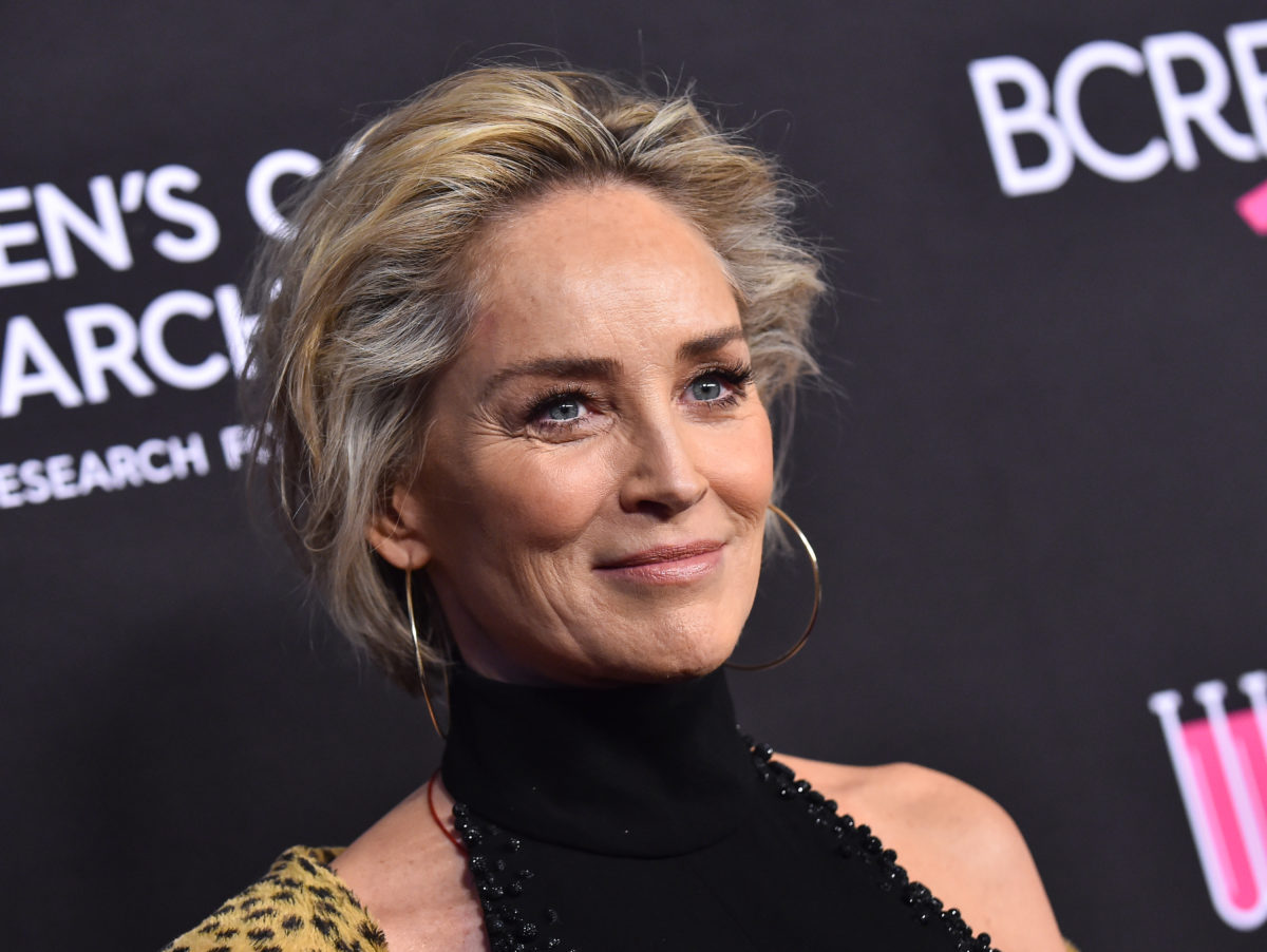 sharon stone reveals her 11-month-old nephew river has died after 'total organ failure'