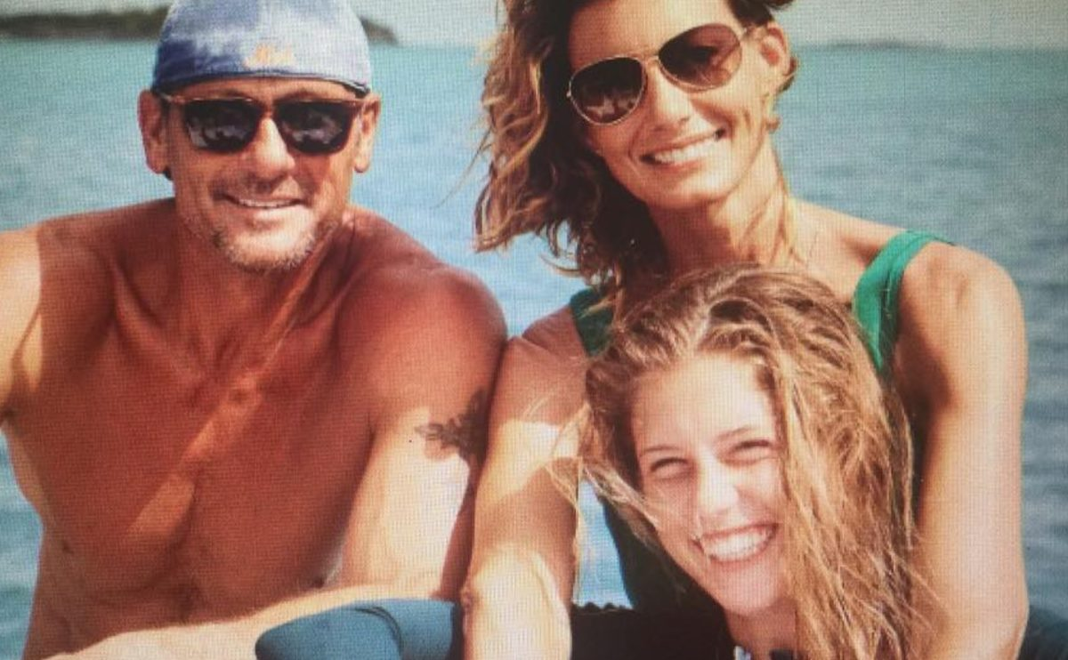tim mcgraw and faith hill's 19-year-old daughter audrey stars in new music video