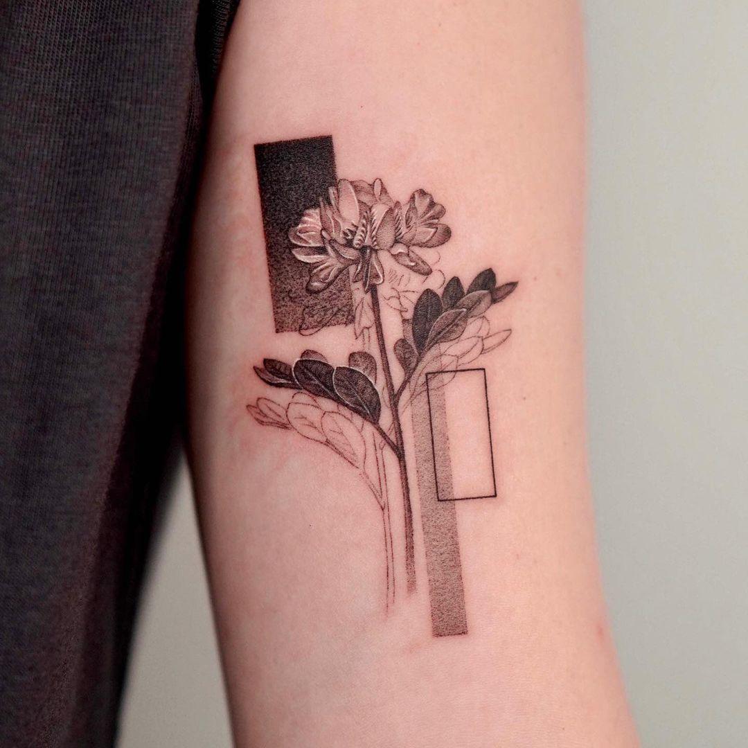 50 flower tattoos