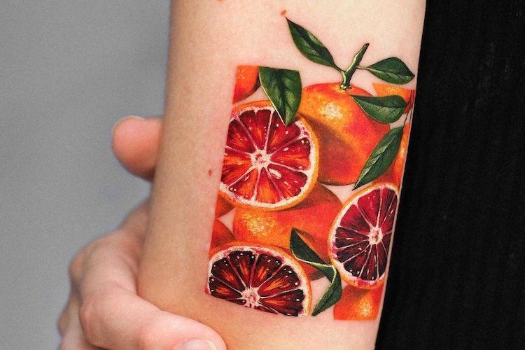 30 fruit tattoo ideas