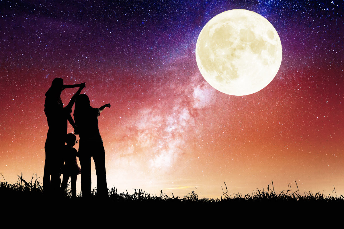 is there a full moon out tonight? do full moons really make people crazy?