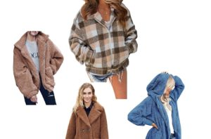 4 different versions of the teddy coat you are sure to love