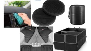 5 car products to keep your vehicle neat, clean, and organized!
