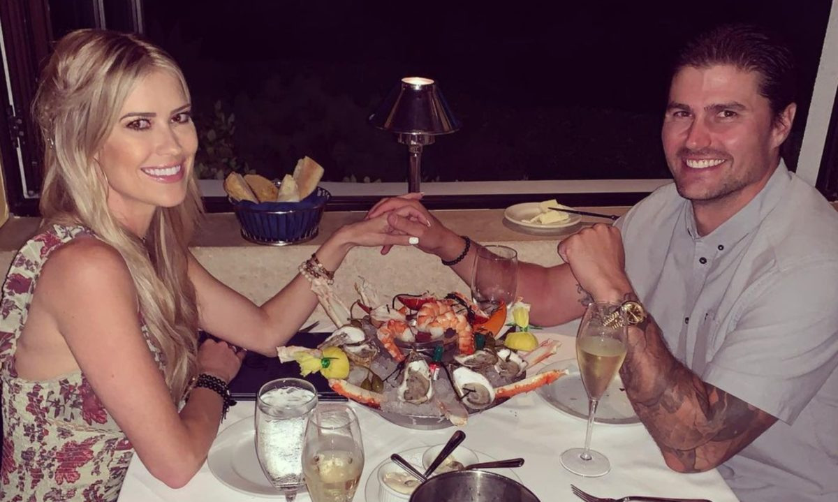 a diamond ring has been spotted, could christina haack be engaged?