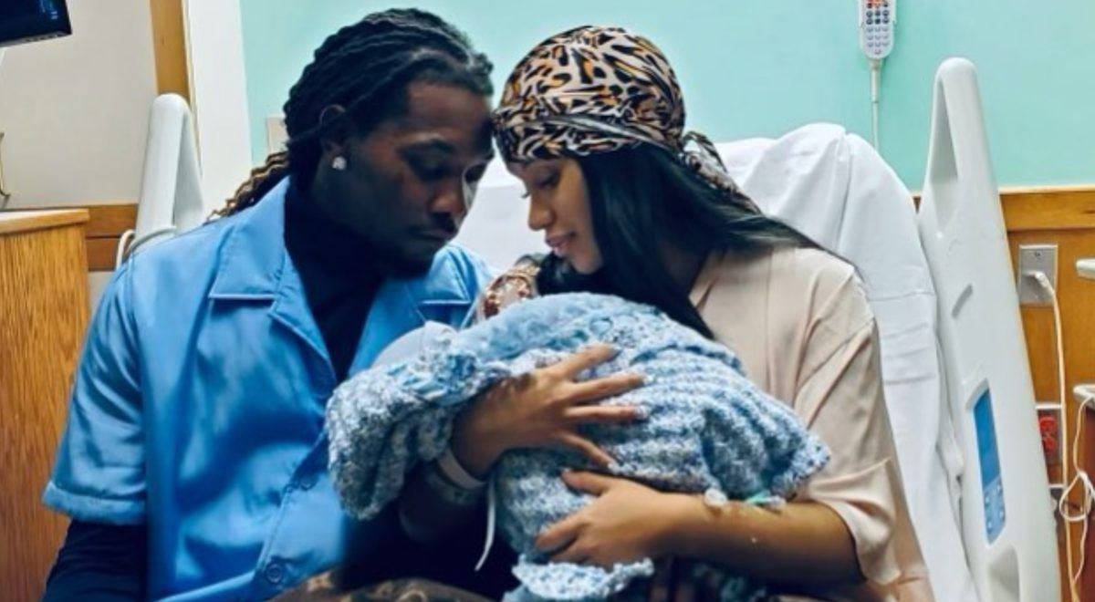 cardi b and offset welcome second child and it's a boy!