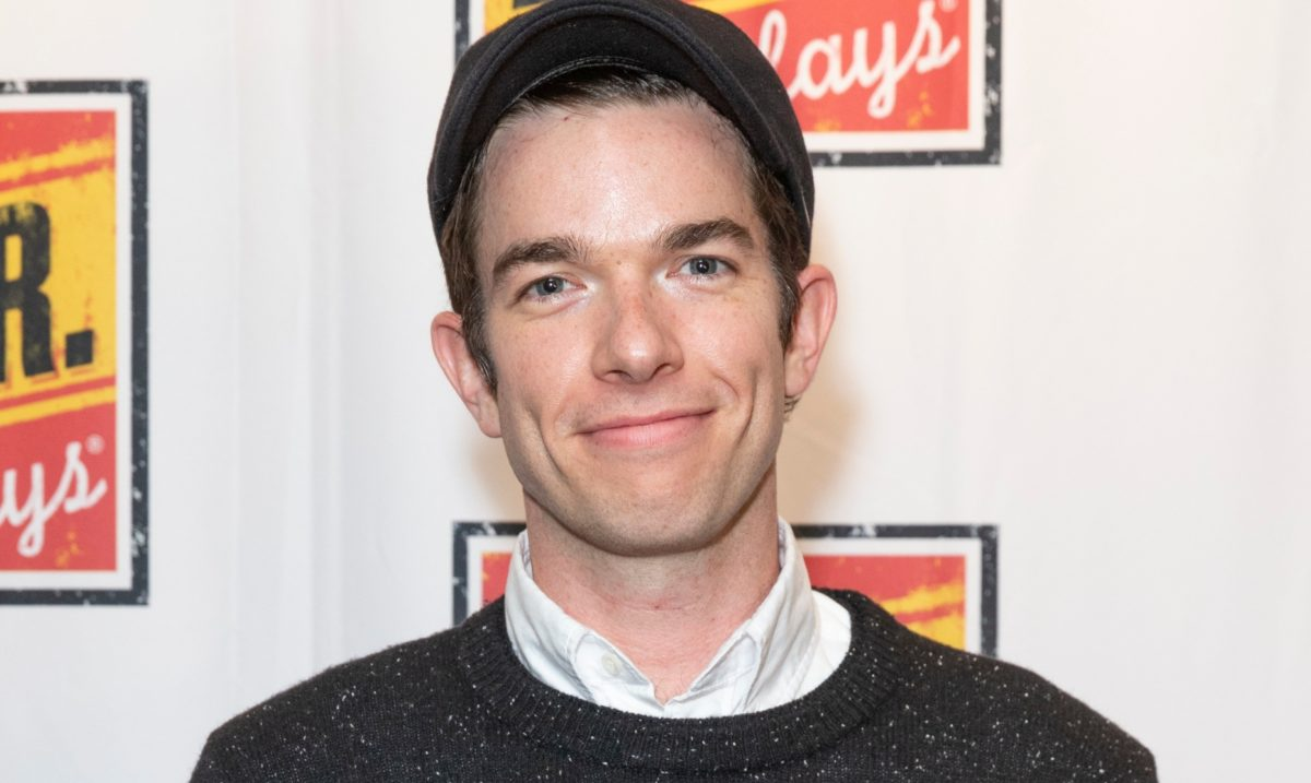 john mulaney does first interview with seth meyers since rehab: 'you guys saved me from drugs'