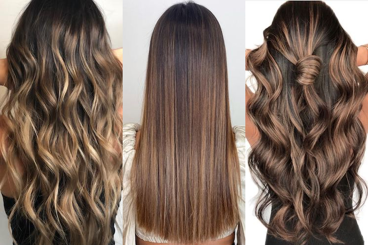45 brown hair color looks