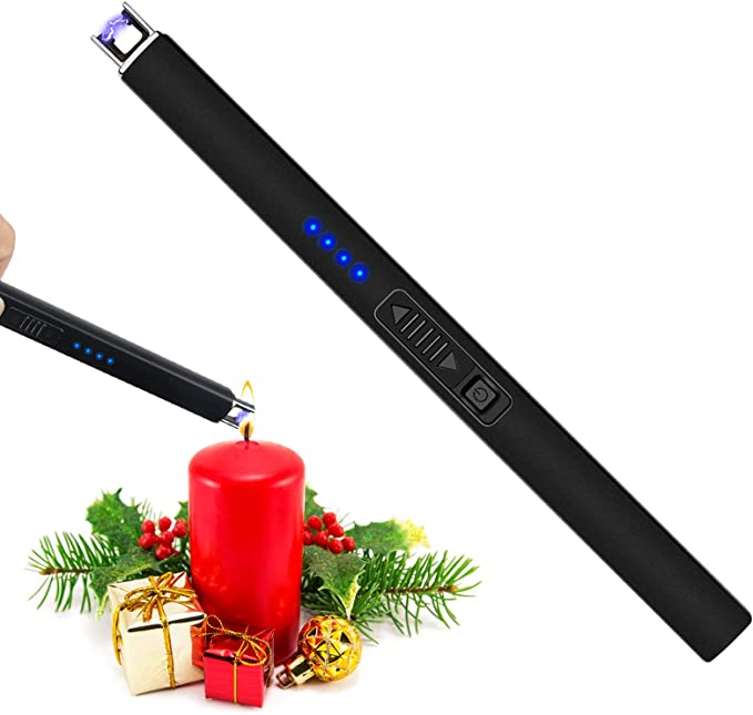 this electric lighter makes every easier and also makes for a great gift   do you love lighting candles? do you love making your home smell good and making it feel cozy with a flicker of a burning candle? but do you also hate using matches and lighters?