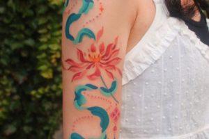 30 lotus tattoo ideas