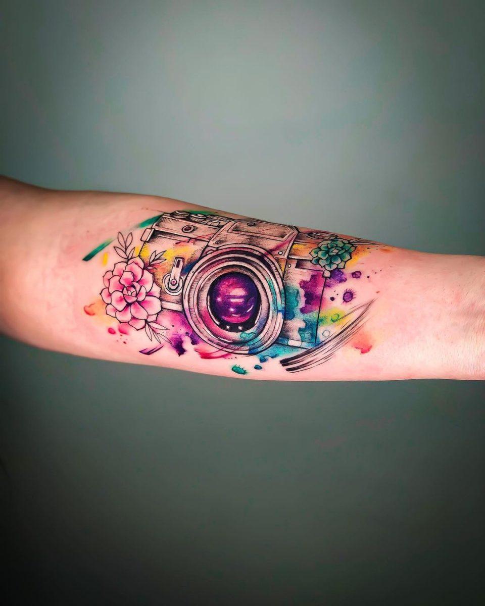 65 watercolor tattoos
