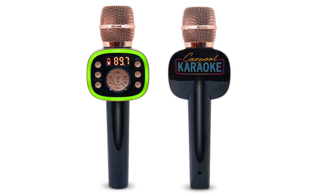 now you can bring james corden's carpool karaoke into your own car thanks to singing machine!